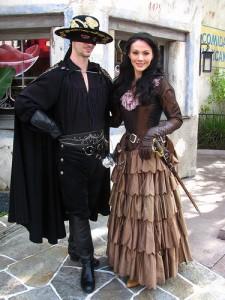 Zorro Couple Costume