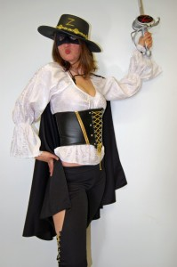 Zorro Woman Costume