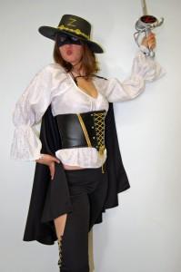 Zorro Woman Costume