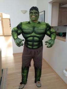 Adult Incredible Hulk Costume