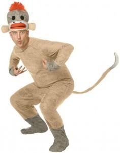 Adult Sock Monkey Costume