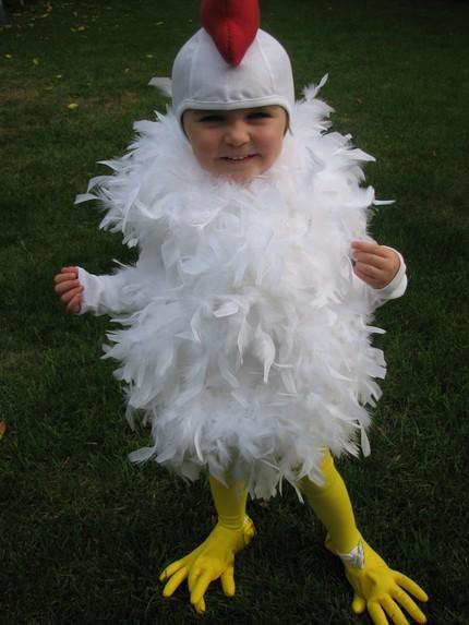 Baby Chicken Halloween Costume