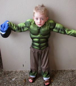 Baby Incredible Hulk Costume