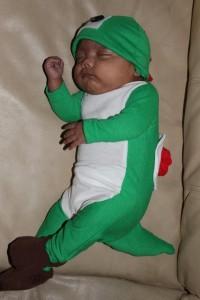 Baby Yoshi Costume