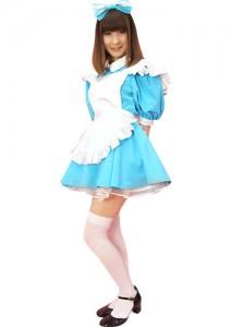 Blue Maid Costume