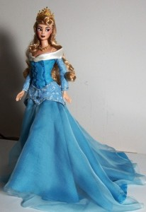 Blue Sleeping Beauty Costume