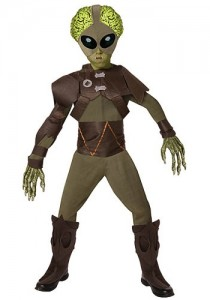 Boys Alien Costume