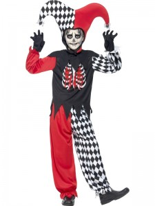 Boys Jester Costume