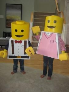 Boys Lego Costume