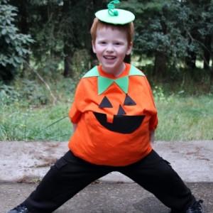 Boys Pumpkin Costume