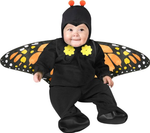 The Butterfly Infant Toddler Costume is the best Halloween costume for you to get! Everyone will love this Baby/Toddler costume that you picked up from Wholesale Halloween Costumes!