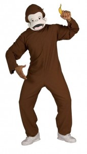 Curious George Costume Adult