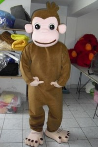 Curious George Costume for Adults