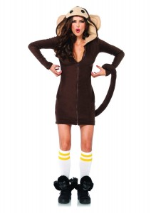 Curious George Costume for Women
