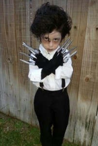 Edward Scissorhands Costume Kids