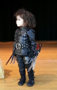 Edward Scissorhands Costume for Kids