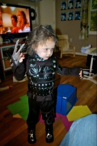 Edward Scissorhands Costume for Toddlers