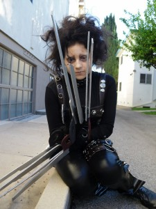 Edward Scissorhands Woman Costume