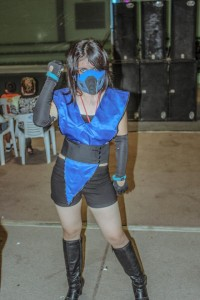 Female Sub Zero Costume