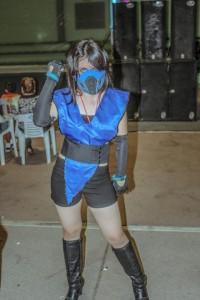 Female Sub Zero Costume