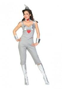 Female Tin Man Costume