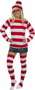 Female Waldo Costume