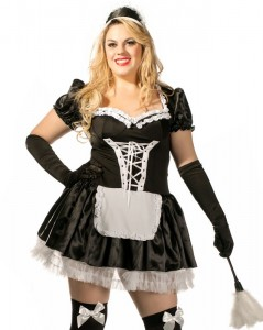 French Maid Costumes Plus Size