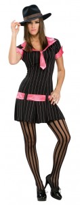 Gangster Costume for Girls