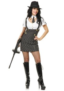 Gangster Female Costume