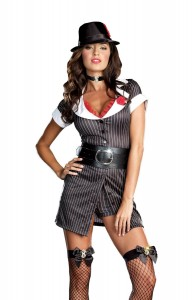 Gangster Girl Halloween Costumes