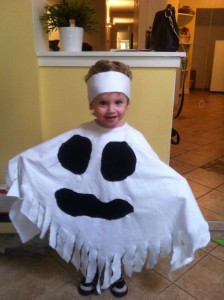 Ghost Costume for Toddler