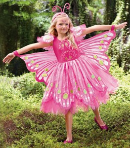 Girl Butterfly Costume