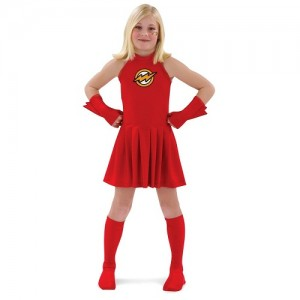 Girl Flash Costume