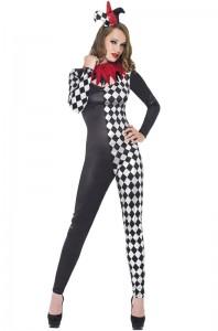 Girl Jester Costume