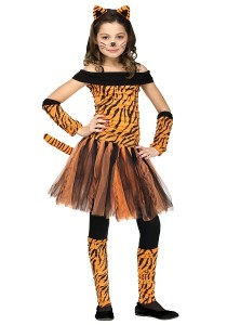Girl Tiger Costume