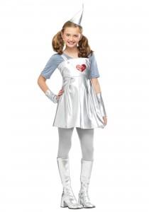Girl Tin Man Costume