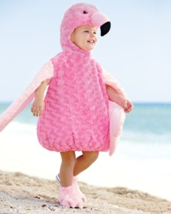 Girls Flamingo Costume