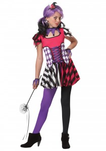Girls Jester Costume