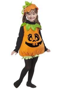 Girls Pumpkin Costume