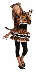 Girls Tiger Costume