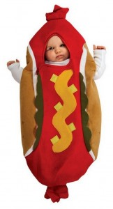 Hot Dog Baby Costume