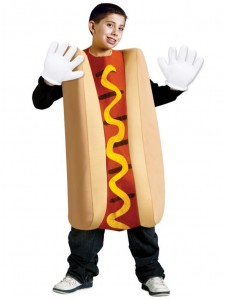 Hot Dog Costume for Kids