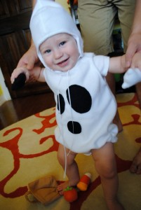 Infant Ghost Costume