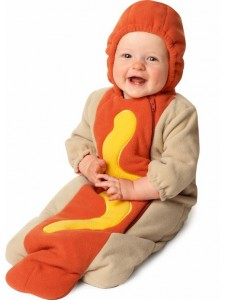 Infant Hot Dog Costume