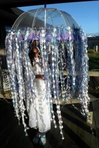 Jellyfish Umbrella Costume