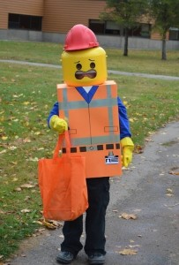 Lego Halloween Costume for Kids