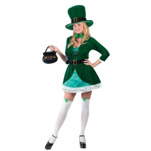 Leprechaun Costume Girl