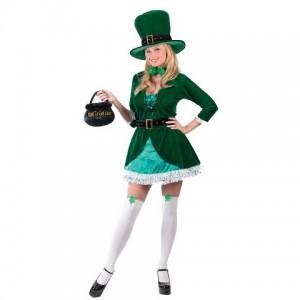 Leprechaun Costume Girl