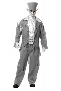Mens Ghost Costume