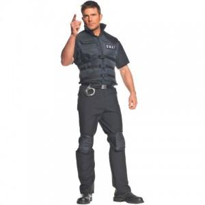 Mens SWAT Costume
